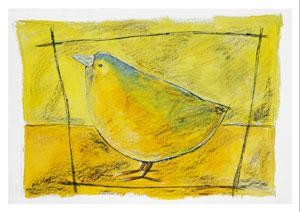 Der gelbe Vogel